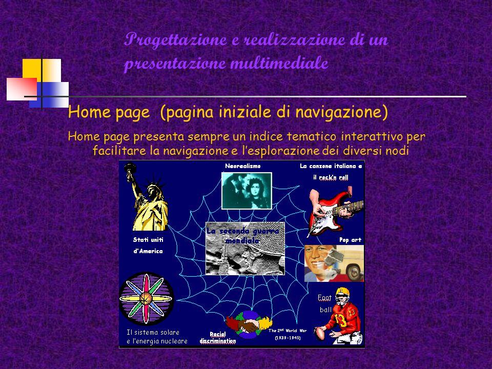 Progettazione e realizzazione di un presentazione multimediale