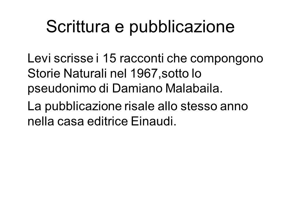 Scrittura e pubblicazione
