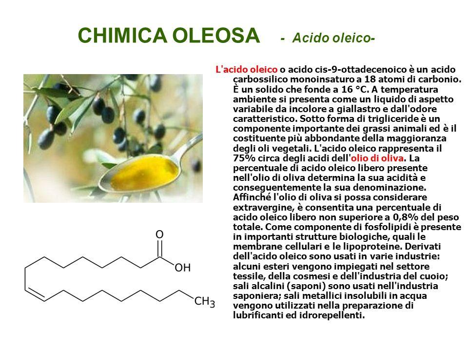 CHIMICA OLEOSA - Acido oleico-