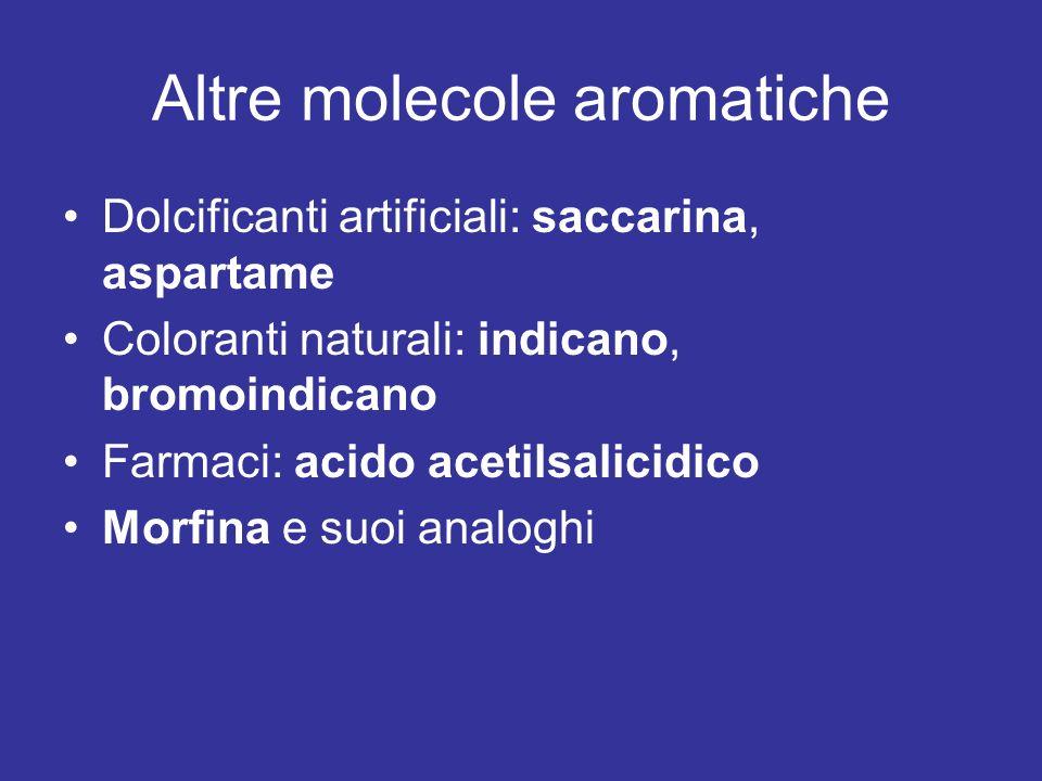 Altre molecole aromatiche