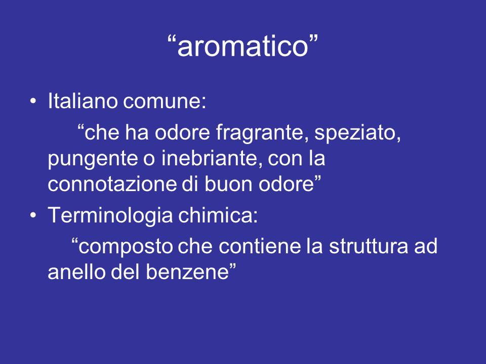 aromatico Italiano comune: