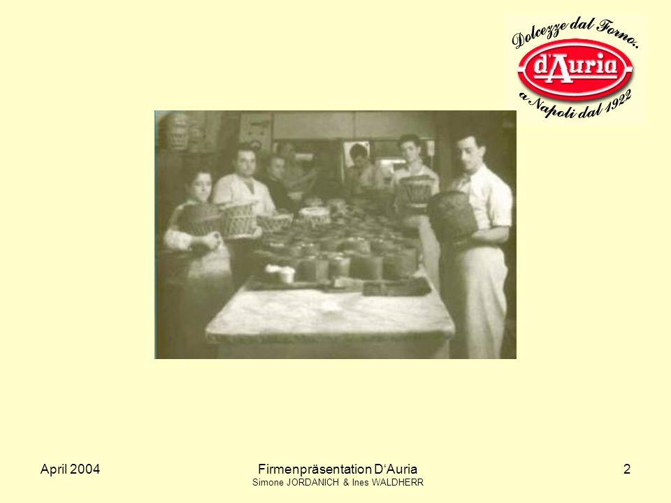 Firmenpräsentation D'Auria
