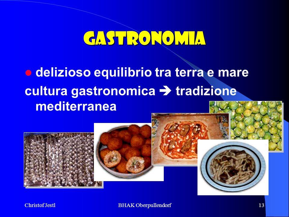 Gastronomia delizioso equilibrio tra terra e mare
