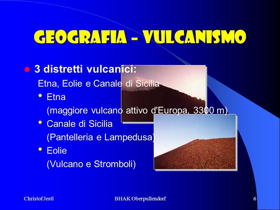 Geografia – Vulcanismo