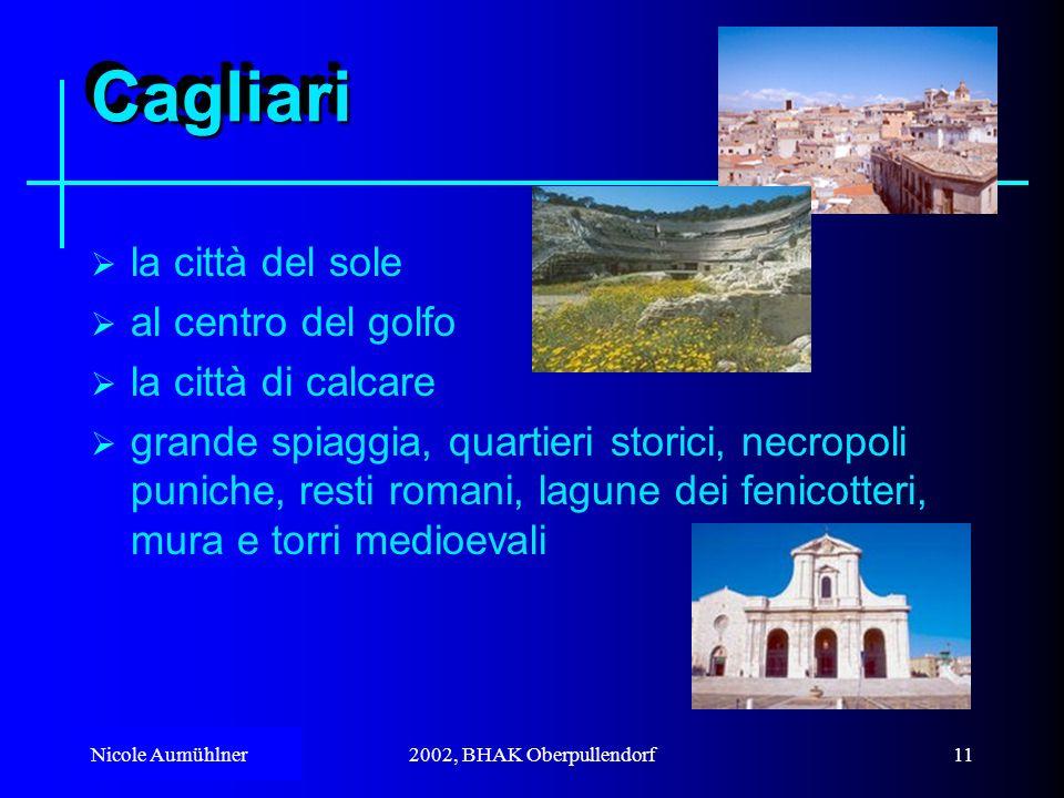Cagliari la città del sole al centro del golfo la città di calcare