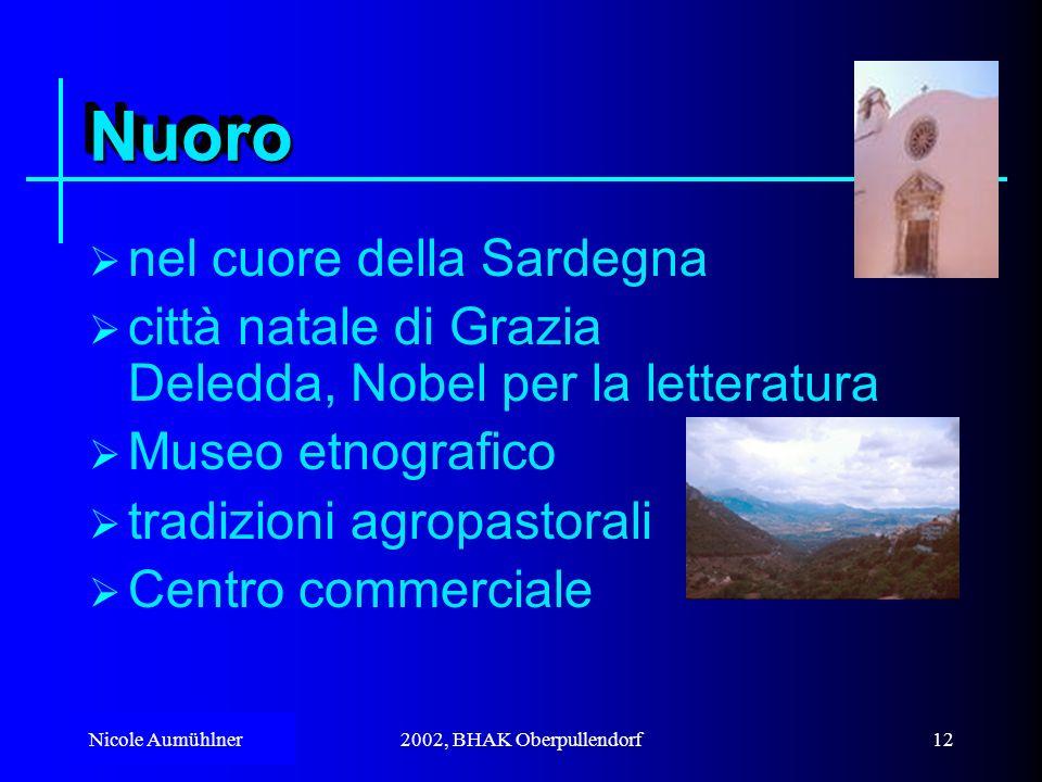 Nuoro nel cuore della Sardegna