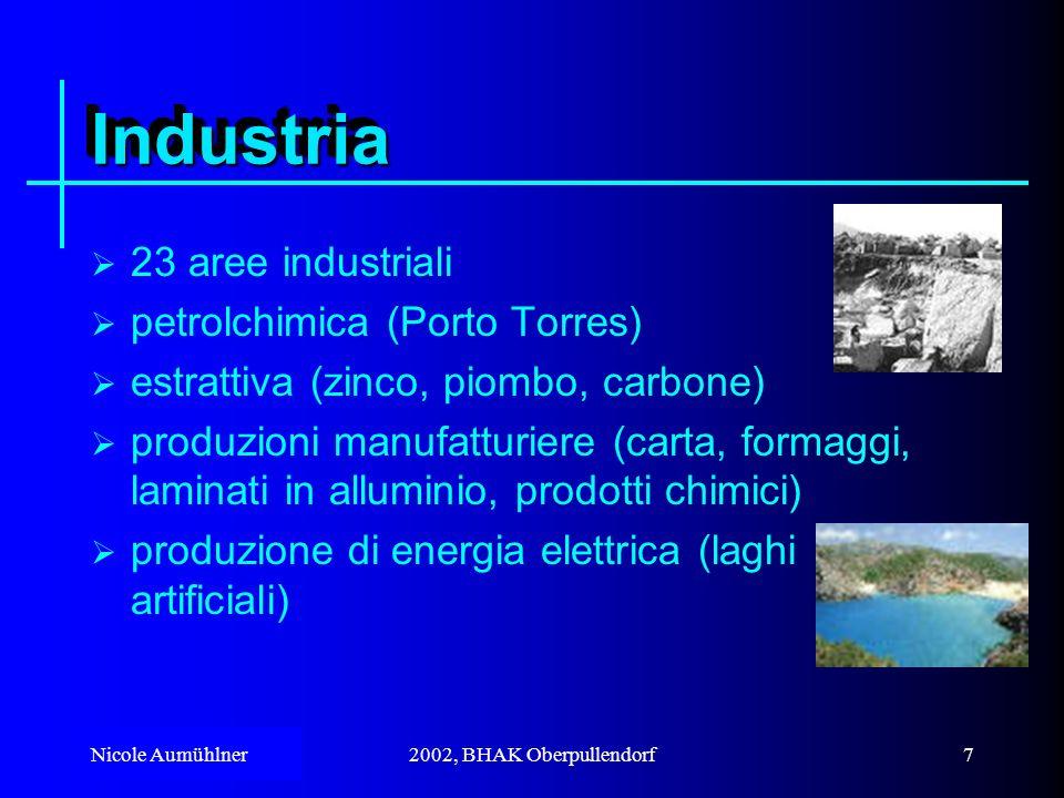 Industria 23 aree industriali petrolchimica (Porto Torres)