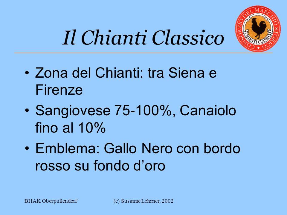 Il Chianti Classico Zona del Chianti: tra Siena e Firenze