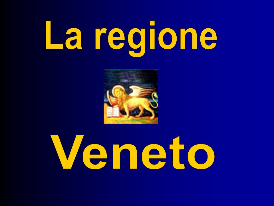 La regione Veneto