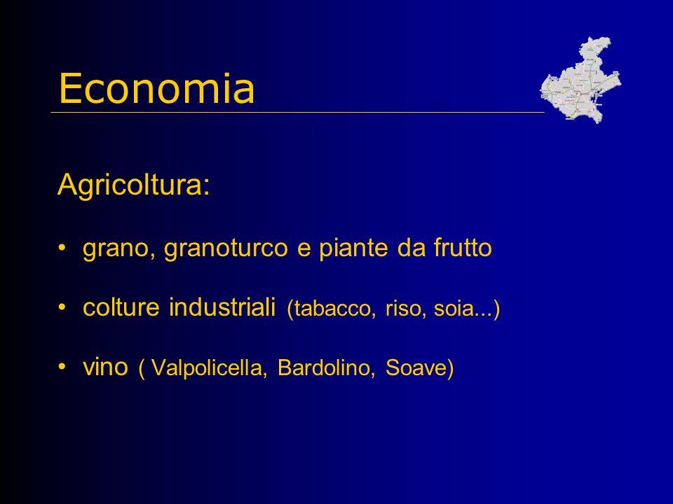 Economia Agricoltura: grano, granoturco e piante da frutto
