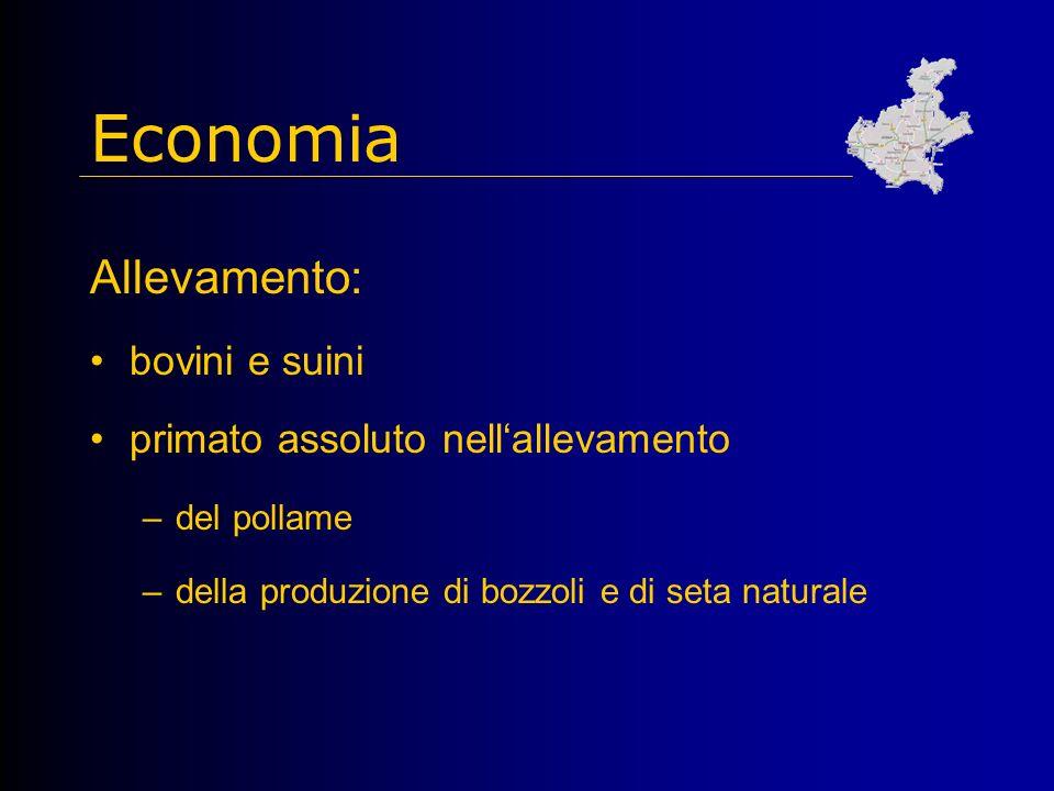 Economia Allevamento: bovini e suini primato assoluto nell'allevamento