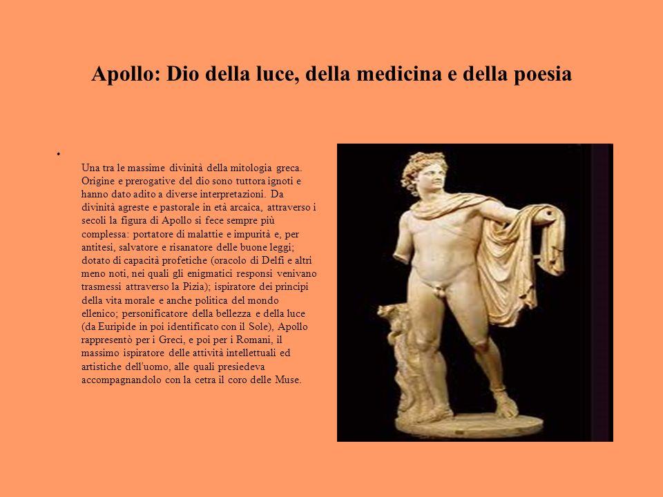 Apollo: Dio della luce, della medicina e della poesia
