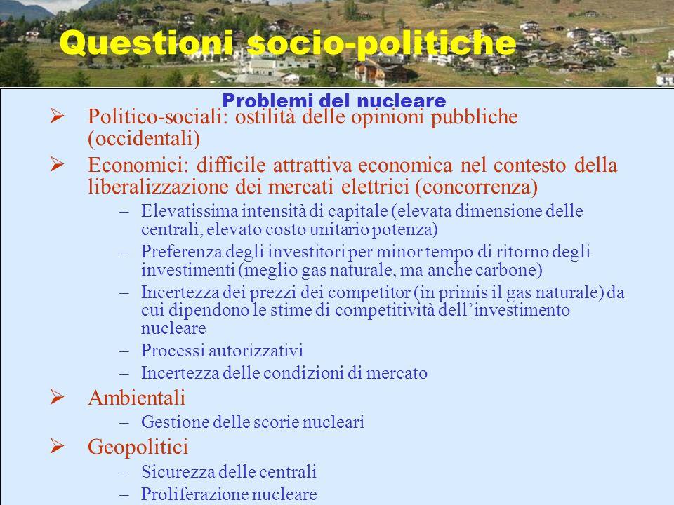 Questioni socio-politiche