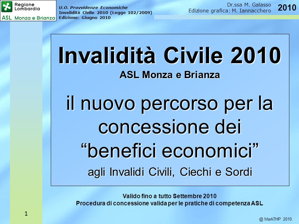 Invalidità Civile 2010 il nuovo percorso per la concessione dei