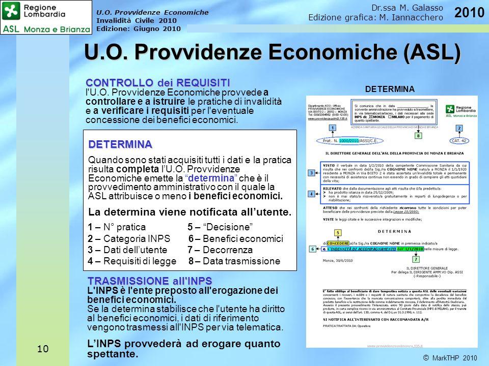 U.O. Provvidenze Economiche (ASL)