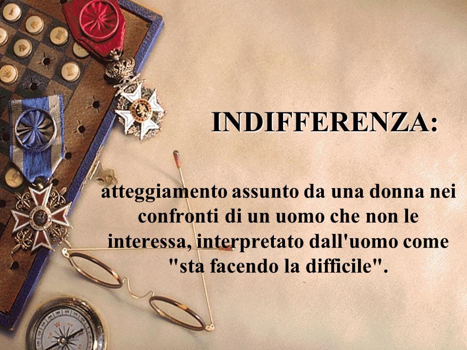 INDIFFERENZA: