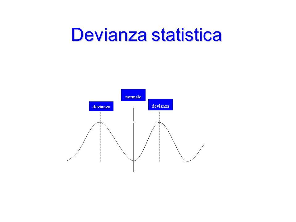 Devianza statistica devianza normale normale devianza devianza