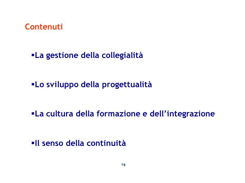 La gestione della collegialità