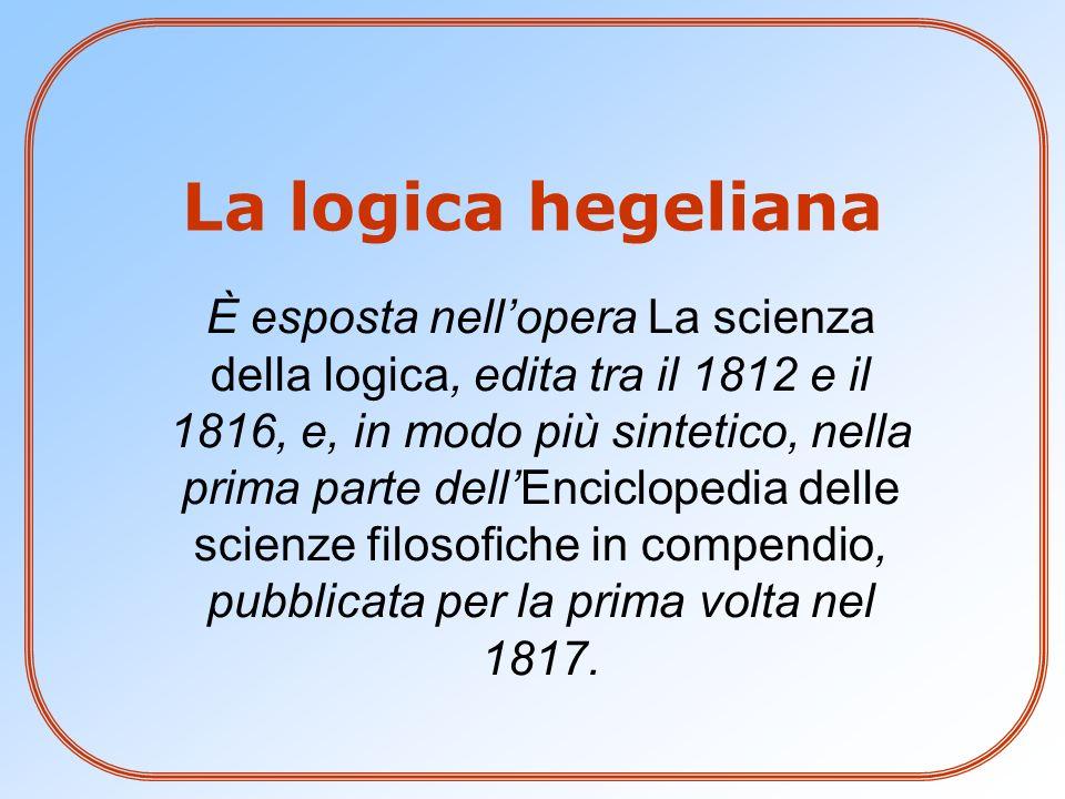 La logica hegeliana