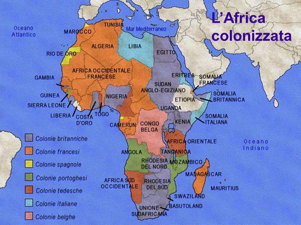 L'Africa colonizzata