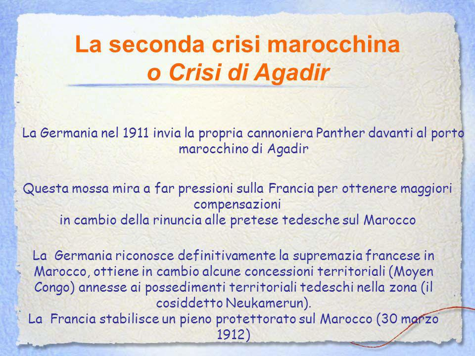 La seconda crisi marocchina o Crisi di Agadir