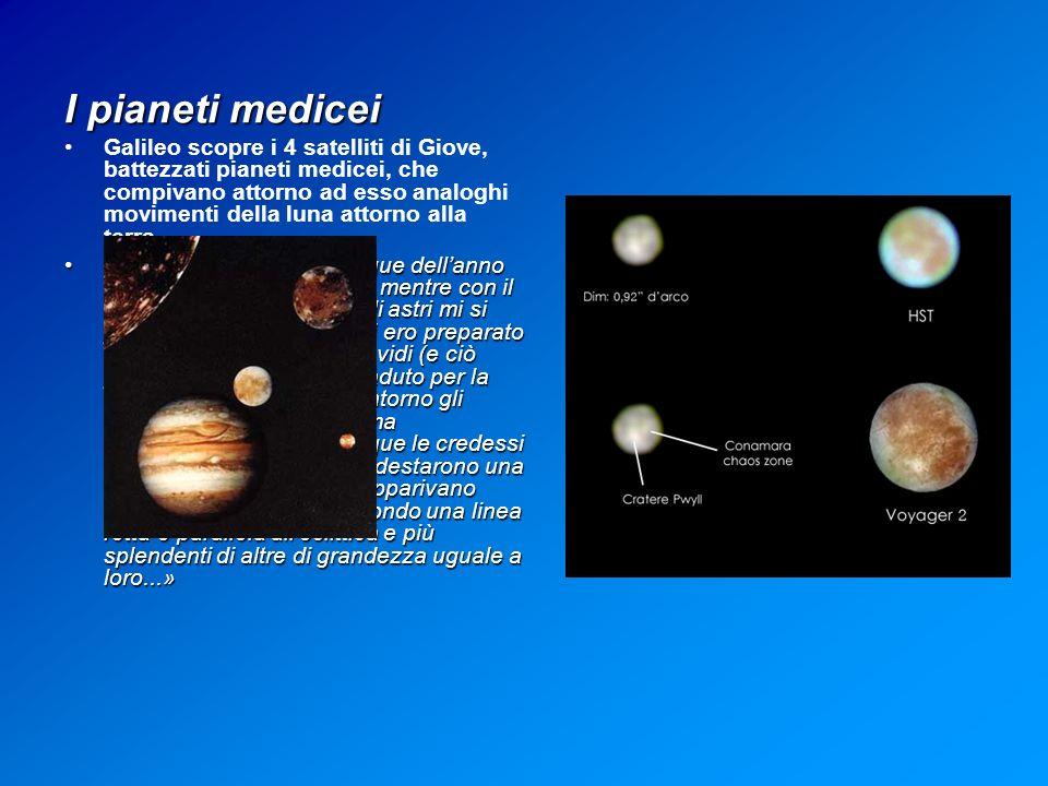 I pianeti medicei