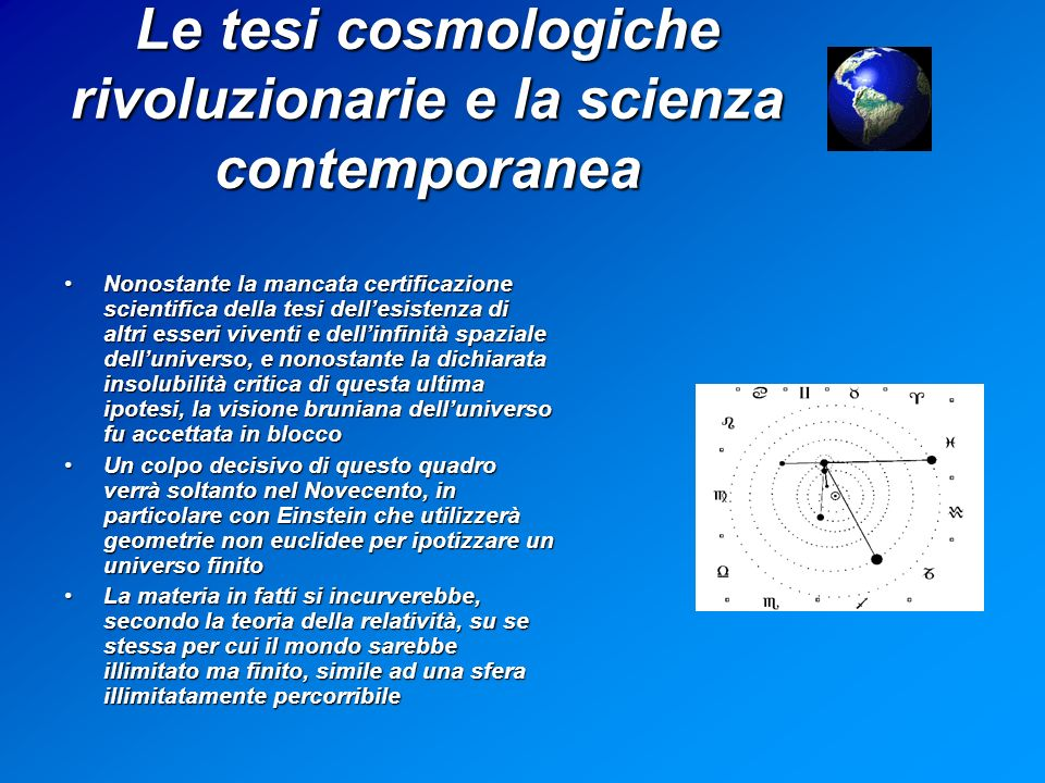 Le tesi cosmologiche rivoluzionarie e la scienza contemporanea