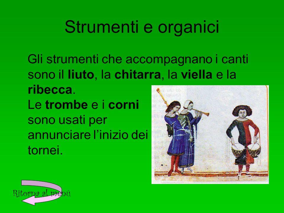 Strumenti e organici