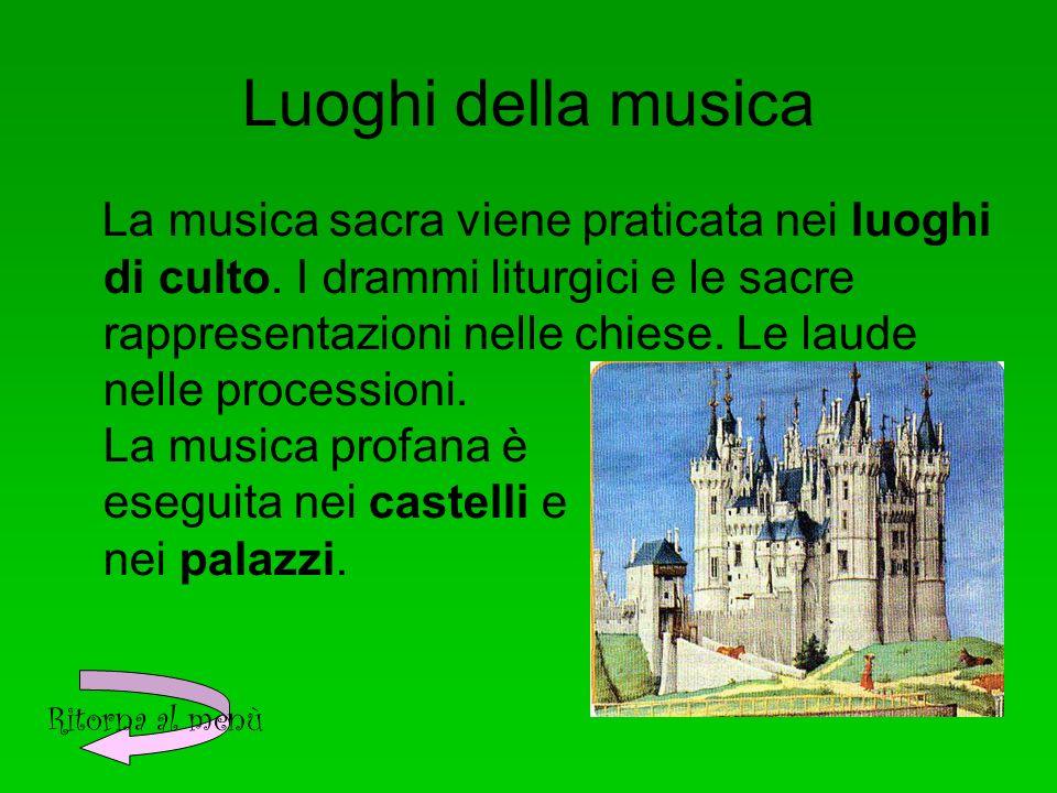 Luoghi della musica