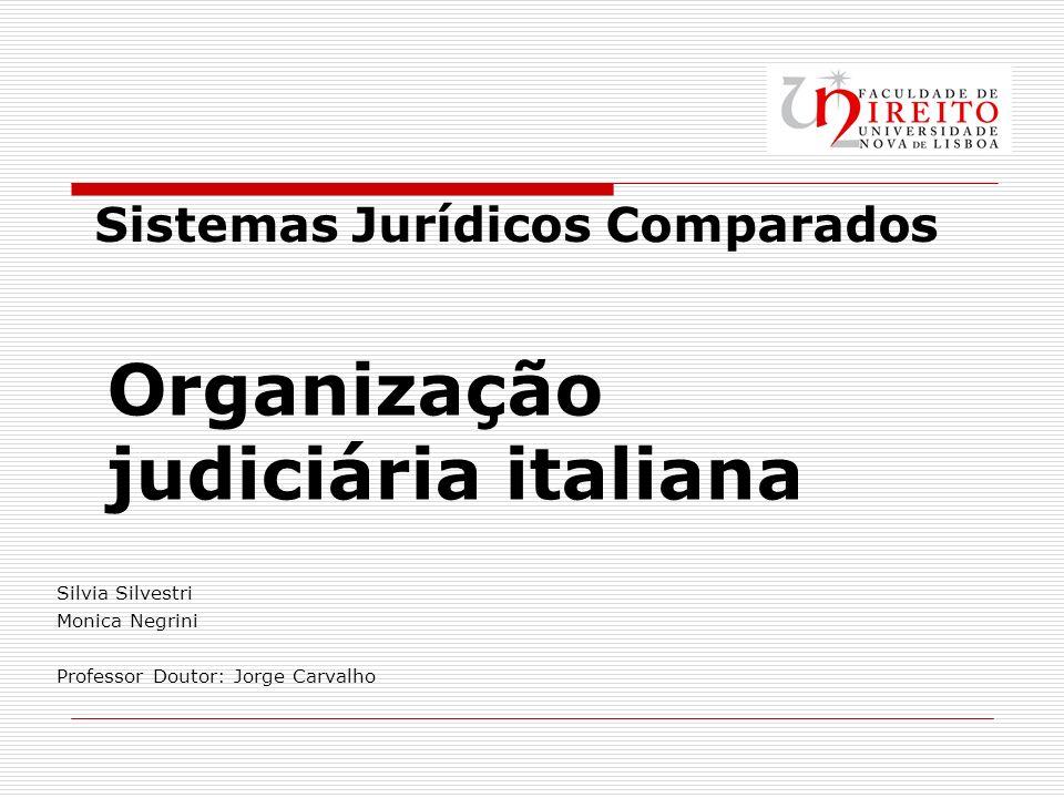 Organização judiciária italiana
