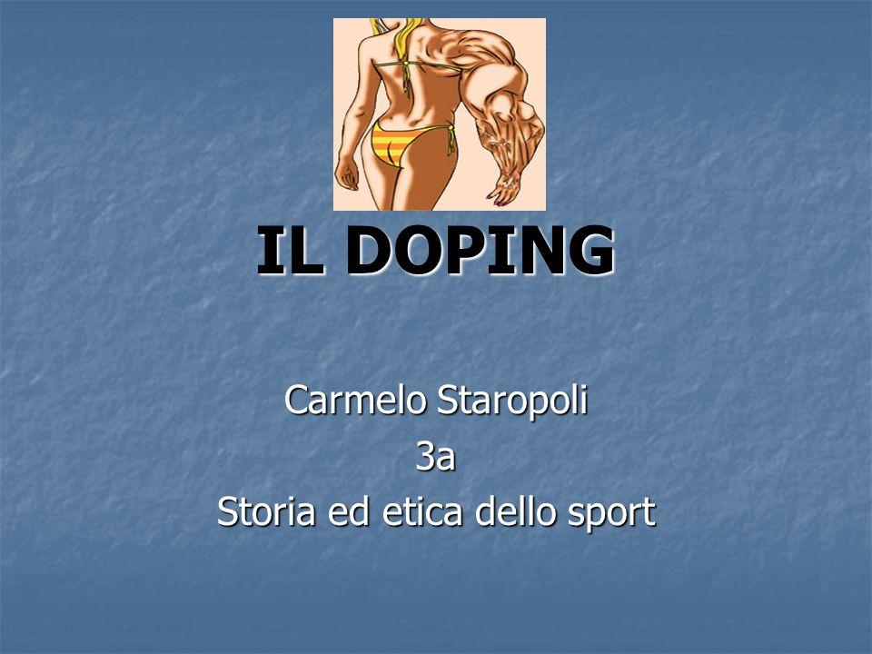 Carmelo Staropoli 3a Storia ed etica dello sport