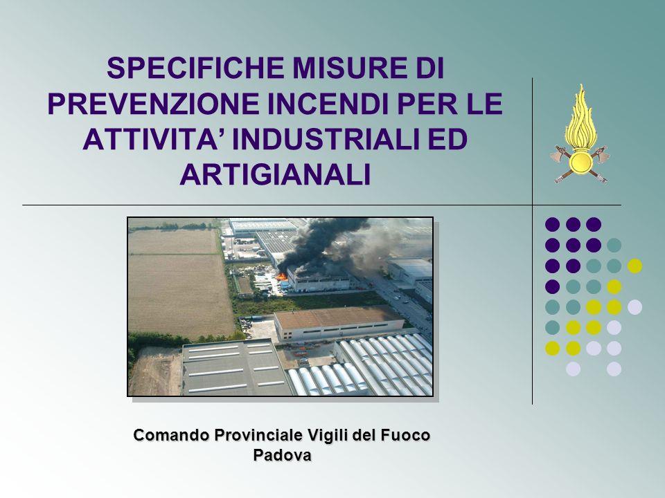 Comando Provinciale Vigili del Fuoco Padova