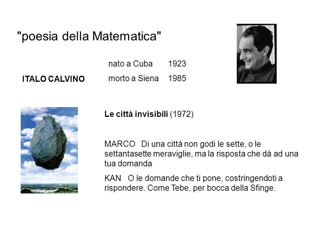 poesia della Matematica