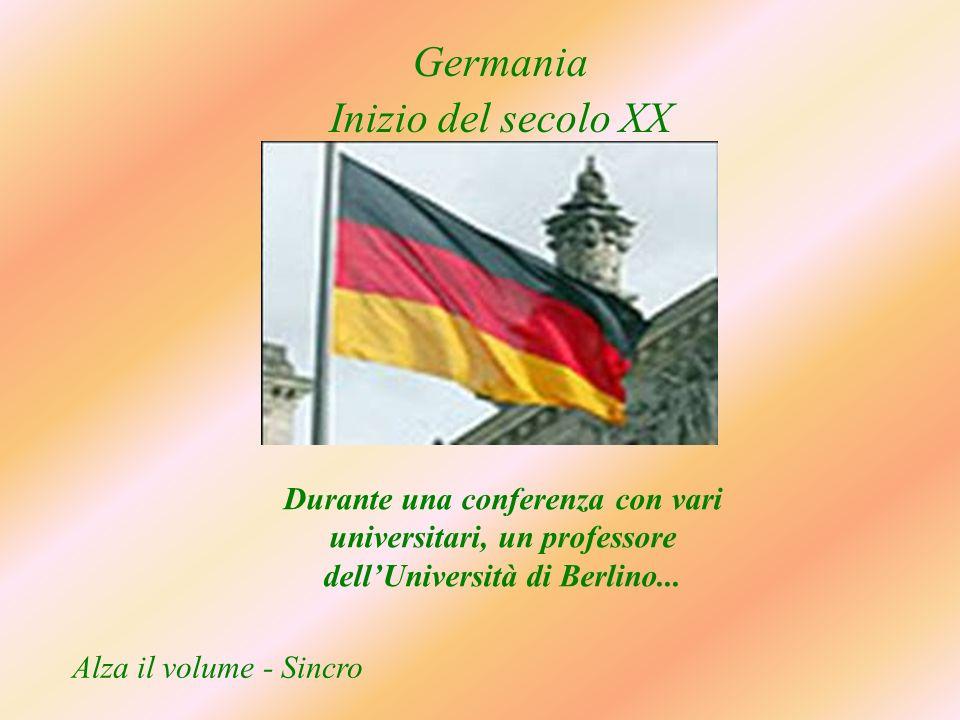 Germania Inizio del secolo XX