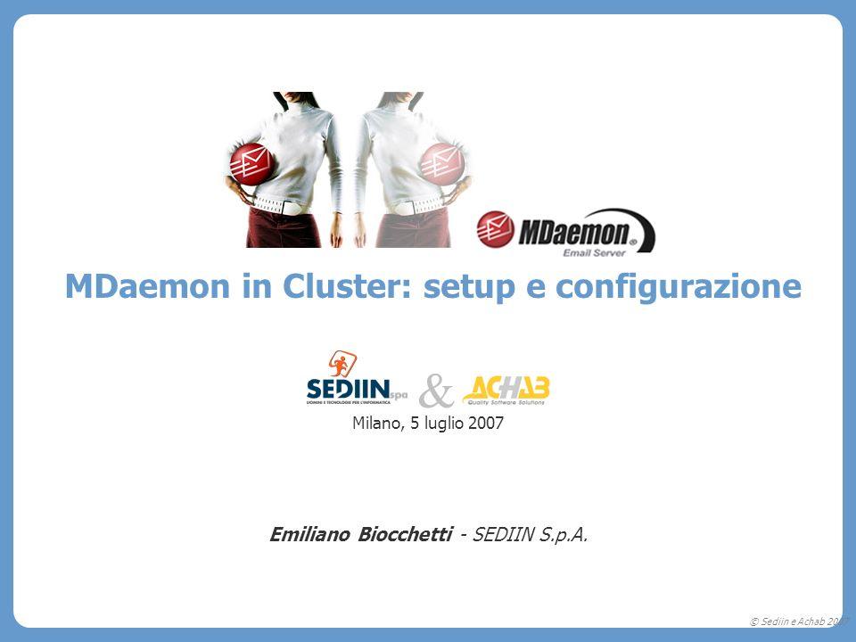 & MDaemon in Cluster: setup e configurazione