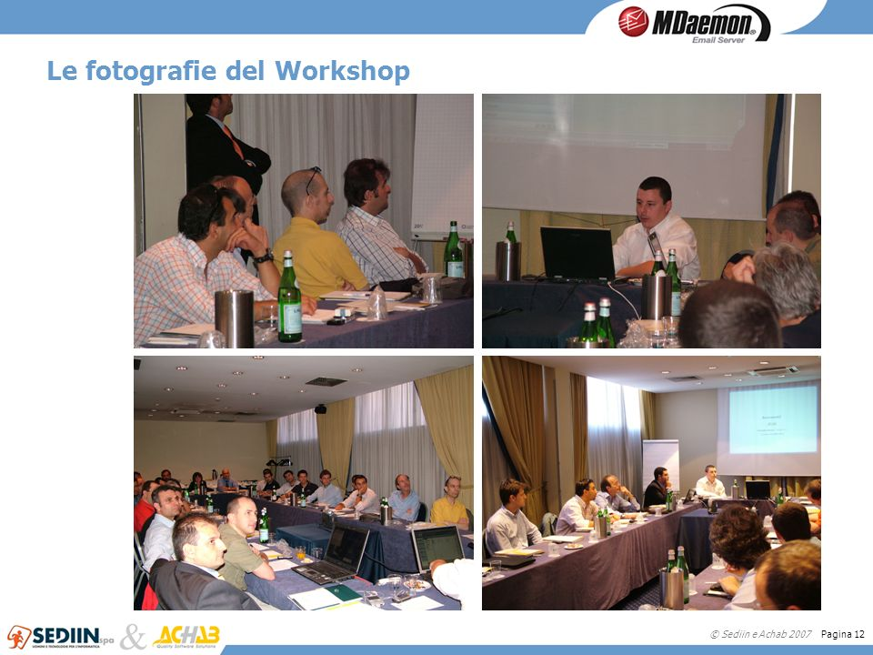 Le fotografie del Workshop