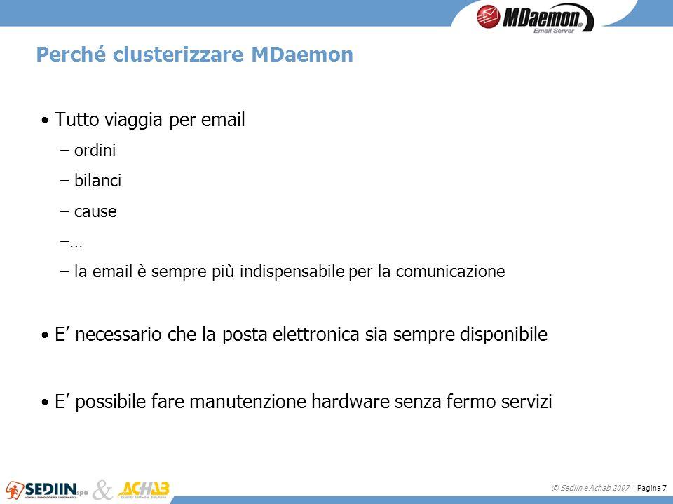 Perché clusterizzare MDaemon