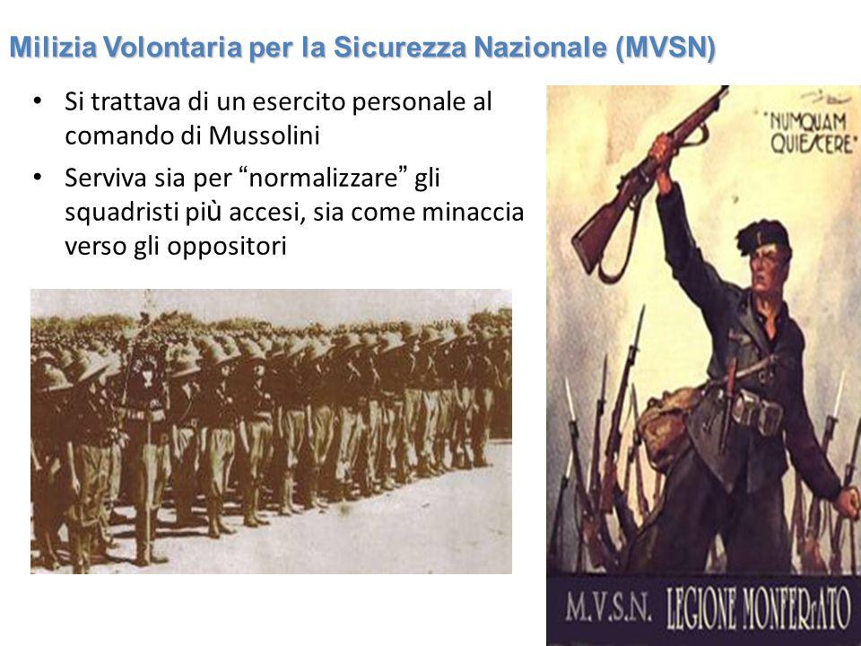 Milizia Volontaria per la Sicurezza Nazionale (MVSN)