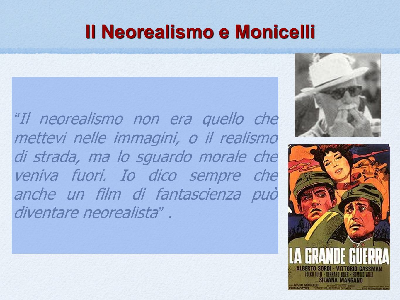 Il Neorealismo e Monicelli