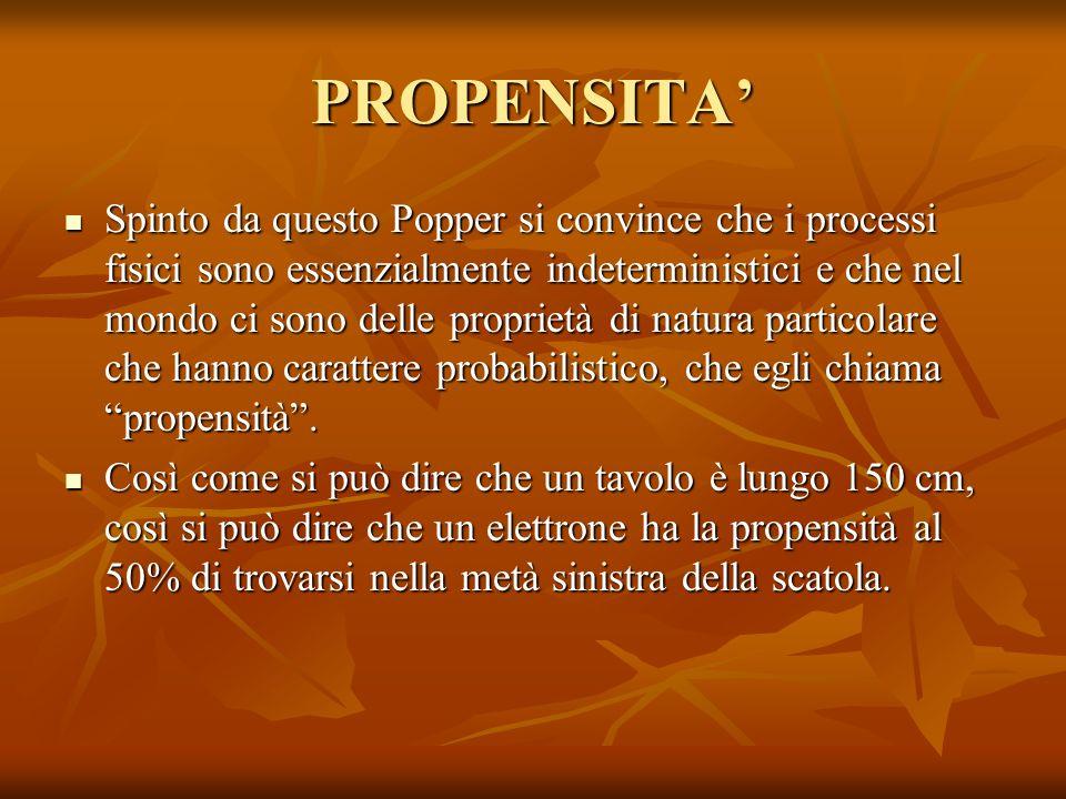 PROPENSITA'
