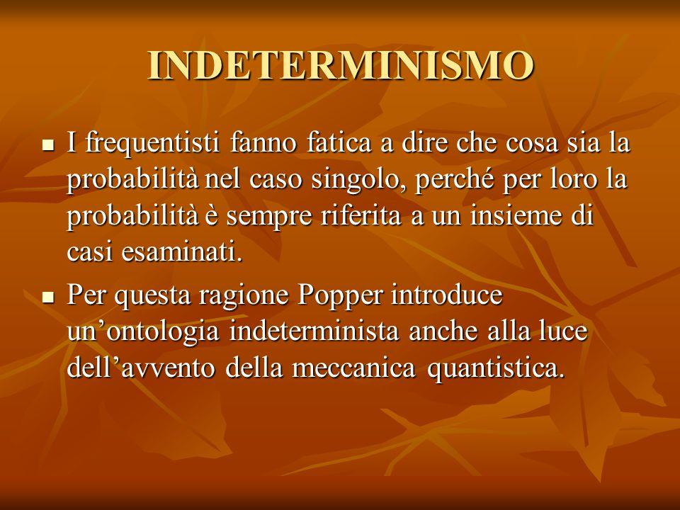 INDETERMINISMO
