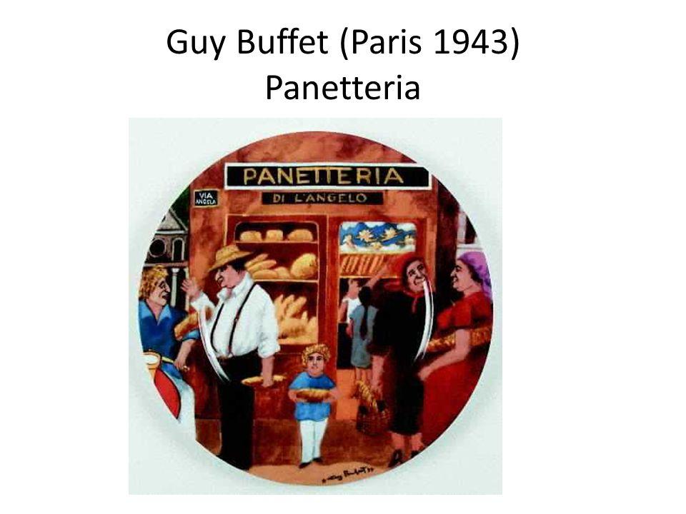 Guy Buffet (Paris 1943) Panetteria