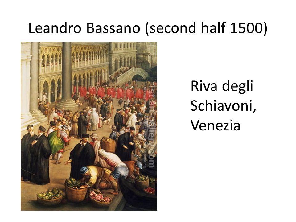 Leandro Bassano (second half 1500)
