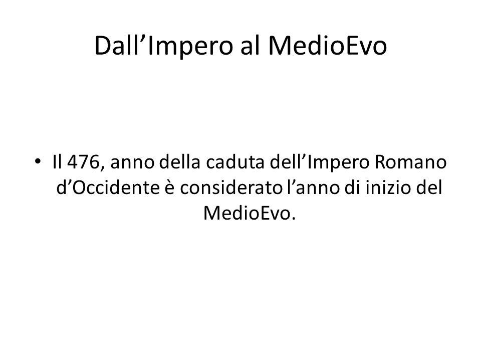 Dall'Impero al MedioEvo