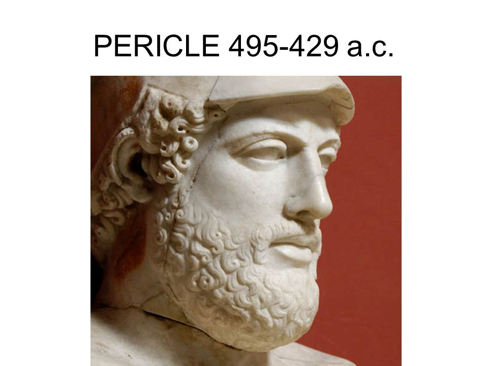 PERICLE 495-429 a.c.