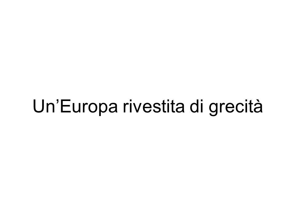 Un'Europa rivestita di grecità