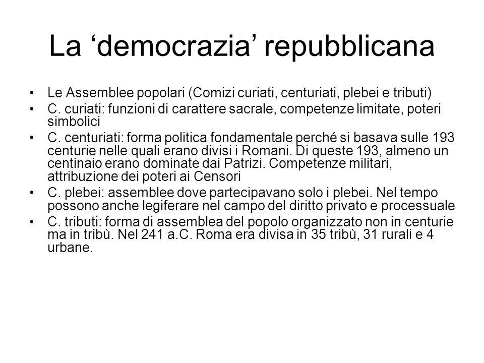 La 'democrazia' repubblicana