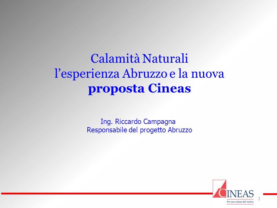 l'esperienza Abruzzo e la nuova proposta Cineas