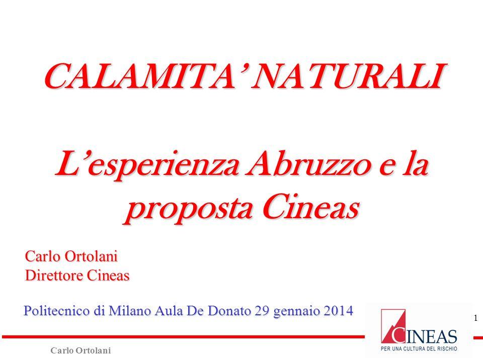 L'esperienza Abruzzo e la proposta Cineas