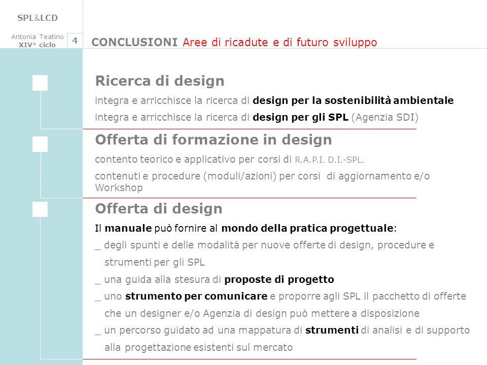 Offerta di formazione in design